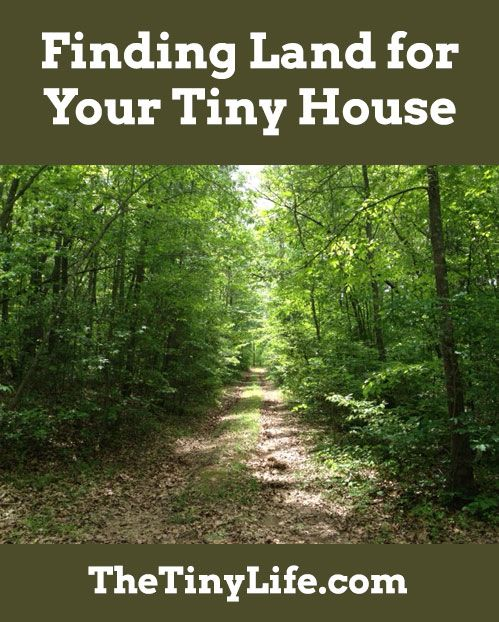How do you find land to park your tiny house?