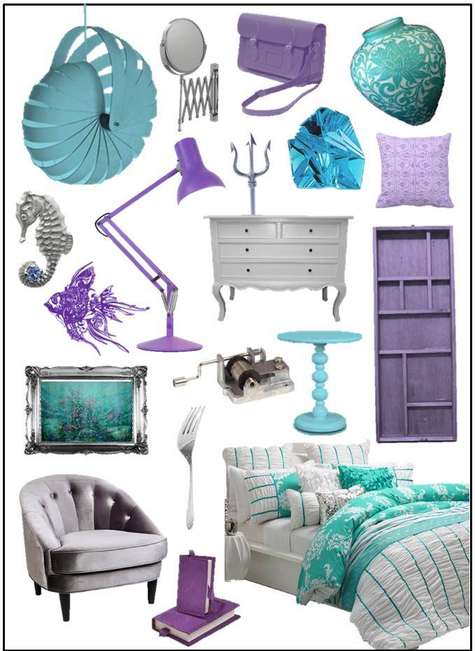 Best 25+ Little mermaid room ideas on Pinterest | Little mermaid ...