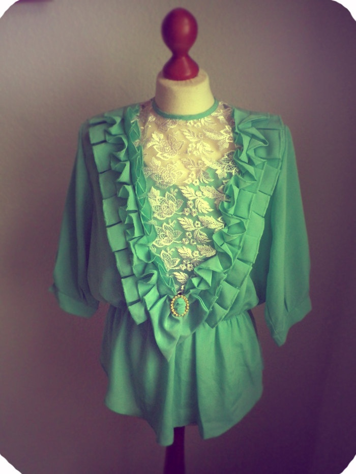 Pinterest Green Blouse 84