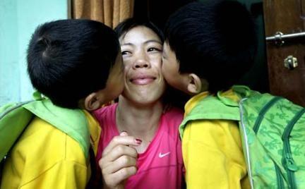 Rare Family Pics of Mary Kom |Family photos of Mary Kom olympic medal winner |Who is Mary Kom ...