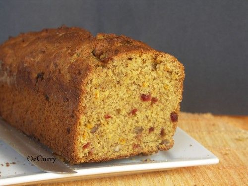 Vegan Banana Orange Nut Loaf | Cakes | Pinterest