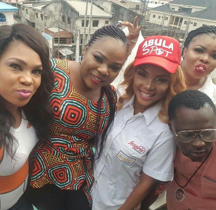 Toyin Abraham Dayo Amusa Others Grace Iyabo Ojos Amala Spot Launch