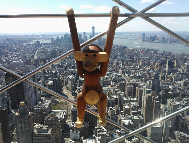 pientä mutta suurta: The view from the Empire State Building, NYC
