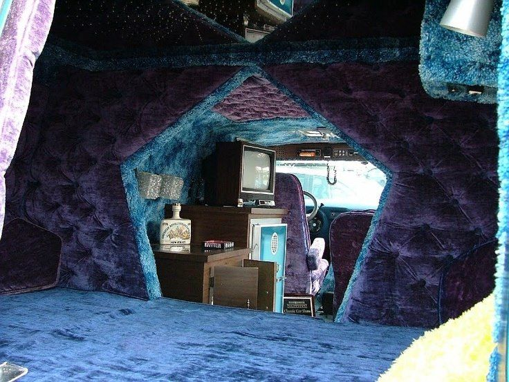 Edition Custom Van Interior View From The Bed In Back Love Cutout