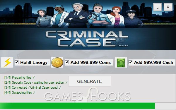 Criminal Case Hack | Games Hooks