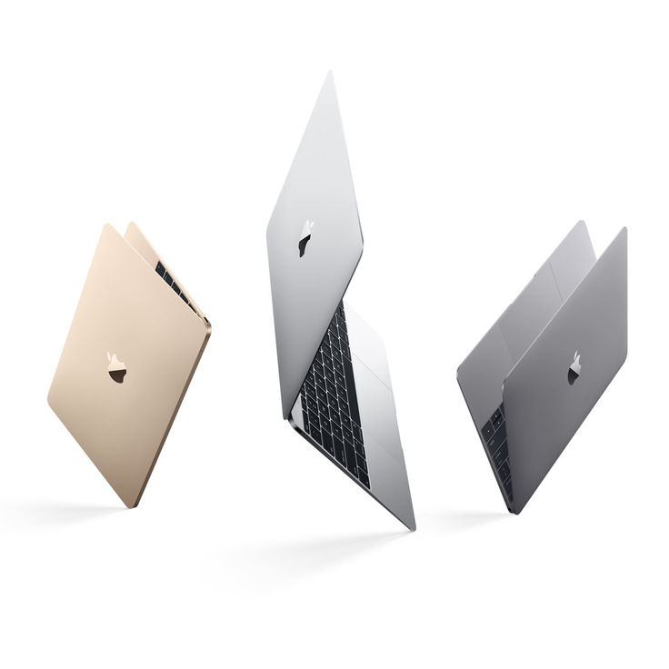 "Apple MacBook (2015)  In Silver, Space Gray or Gold. 12"" Retina Display. 2.03 lbs. 1.1, 1.2 or 1.3GHz dual-core Intel Core M processor with new Force Touch trackpad. (SEE April 2016 Update PIN http://pin.it/xu3Ol85 - New Rose Gold Option)"