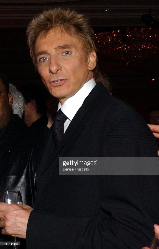 barry manilow getty images | Barry Manilow during Barry Manilow 's Music and Passion - After Party ...