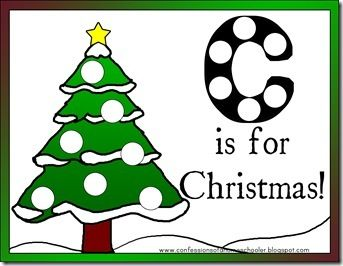 Preschool Christmas Activities. Fun ideas for tracing, games, cutting skills, counting, coloring, patterns, size sorting, etc.