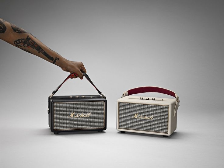 Marshall Kilburn Bluetooth Speaker.