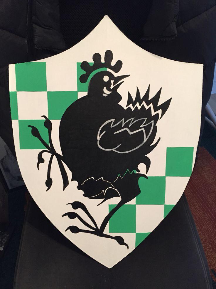 Brave Sir Robin S Shield For Spamalot Robin Costume