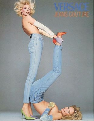 NAok: 90 S, Inspiration, Jeans Ad, Jeans Fashion, 90S Fashion, Blue Jeans, Jeans Couture, Versace Jeans