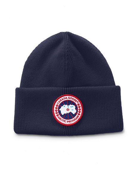 CANADA GOOSE Men s Arctic Disc Toque Knit Beanie Hat.  canadagoose ... c568112ff0d2
