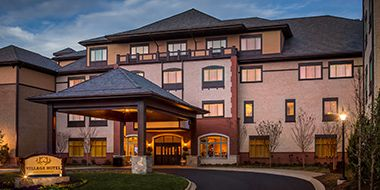 The Village Hotel on Biltmore Estate offers a casual home base for your Biltmore getaway.