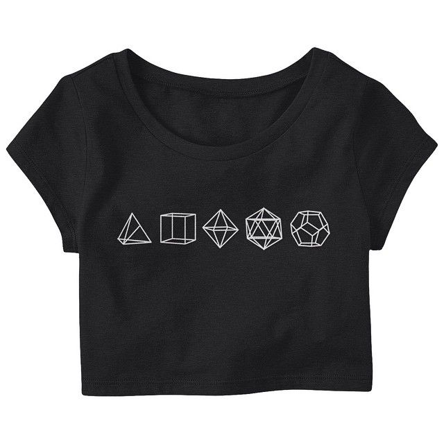 The simplest designs are those that are Universal. ____  #awak3n #sacredgeometry #platonicsolids #croptop #croptee #sacredgeometryclothing