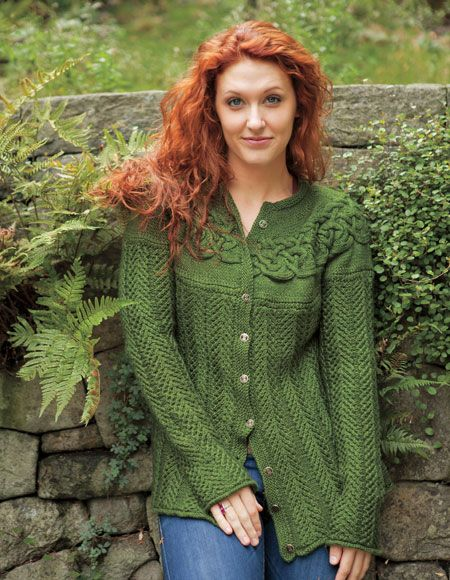 View more images from Circlet Cardigan Pattern : only at Knitpicks.com