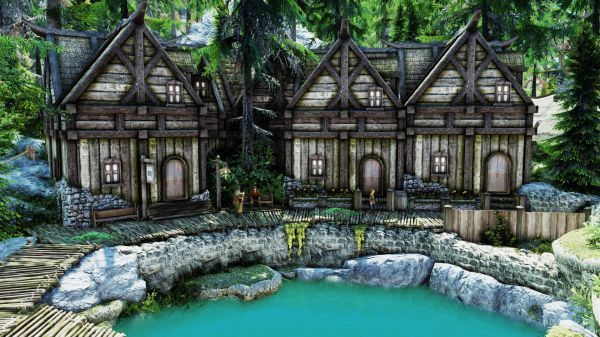 Lc Build Your Noble House At Skyrim Nexus Mods And Community Noble House Building House
