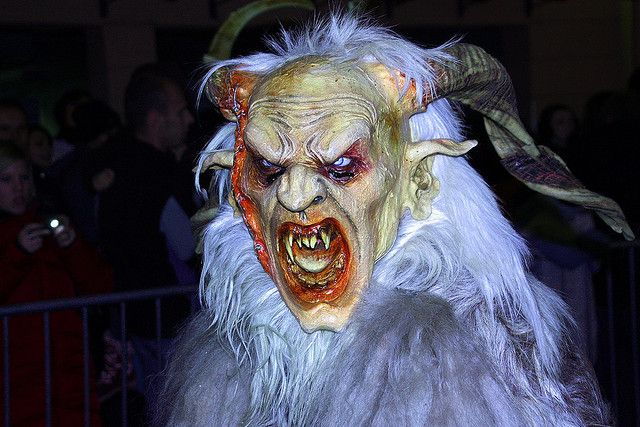 8 Legendary Monsters of Christmas http://mentalfloss.com/article/54184/8-legendary-monsters-christmas