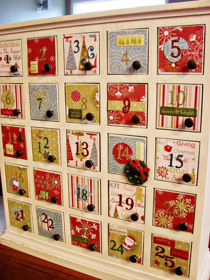 1000 Ideas About Advent Calendar Boxes On Pinterest