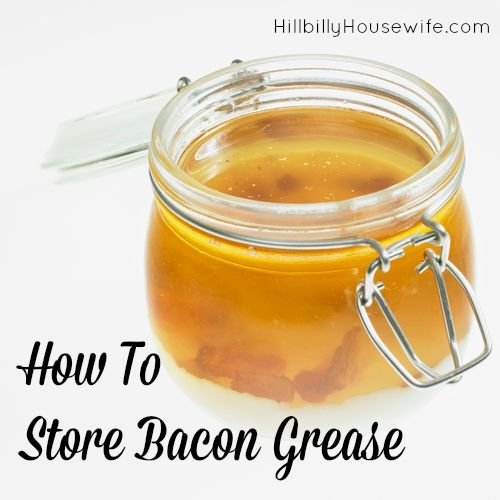 Here's how to store and use bacon grease in your kitchen. Store it on the counter, in the fridge or in the freezer.
