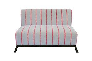 Kaija 2 seater - Red Tulip -  super stylish quality. Made in Bendigo.