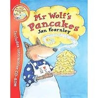 Mr. Wolf Is Making Pancakes- Who Will Help Him?
