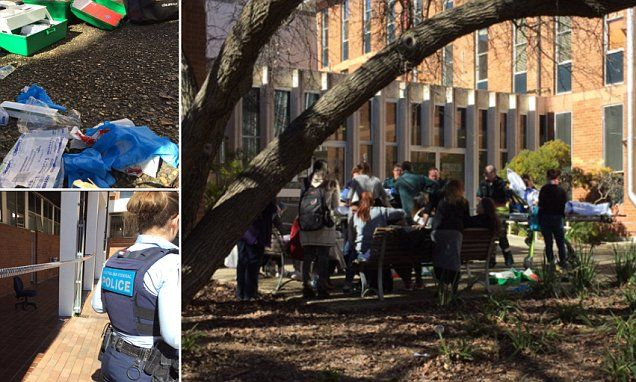 Student, 18, who 'attacked his lecturer and three classmates with a baseball bat' in ANU rampage is sent for psychiatric assessment after fronting court