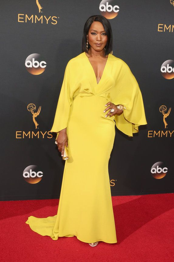 Angela Basset - The 2016 Emmys Red Carpet is On Another Level