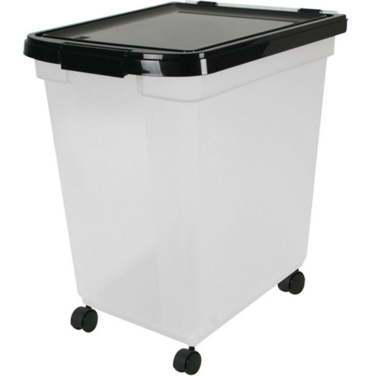 IRIS 50 Lb. Wheeled Airtight Pet Food Container