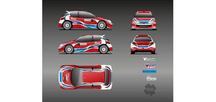 J. Vlček (Peugeot 206) - design - 2012.