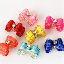 Домашних собак зажим для волос луки галстуки щенок шпилька стрижка собак аксессуары бесплатная доставка(China (Mainland))