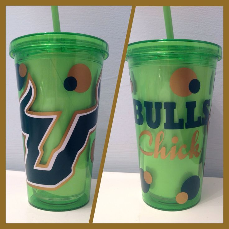 University of South Florida 16oz double by JnJawesomeCreations, $15.00