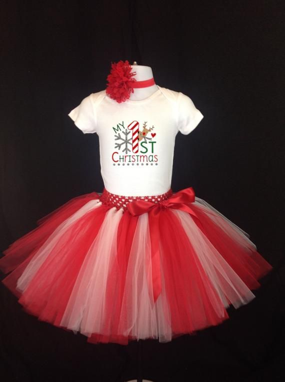 holiday outfit Xmas shirt tutu outfit baby girl 1st birthday outfit my first outfit Gingerbread House Baby girl Christmas outfit