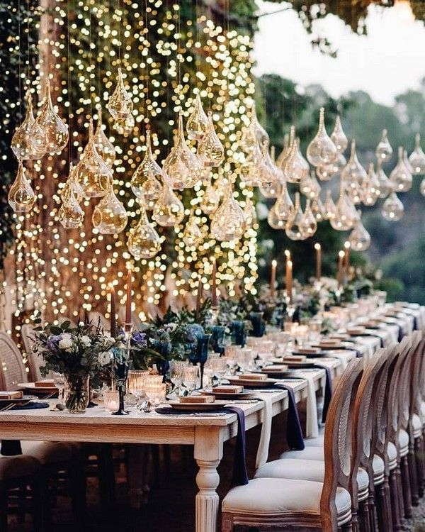 20 Creative Ideas For Wedding Reception Lighting In 2020 Cheap Wedding Table Centerpieces Country Wedding Reception Wedding Reception Lighting