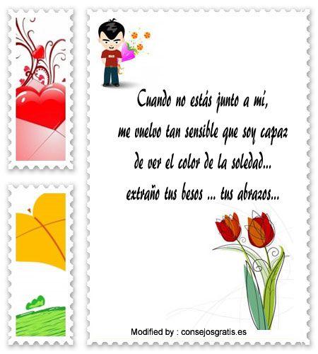 textos originales de amor para mi pareja,buscar textos bonitos de amor para whatsapp : http://www.consejosgratis.es/mensajes-de-amor/