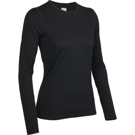 Women's Icebreaker Oasis Crewe long sleeve base layer  - Outfitters, Grouse Mountain, Vancouver - Pin It To Win It Contest