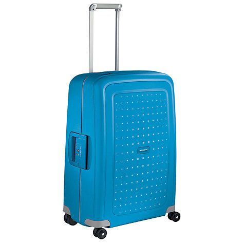 Buy Samsonite S'Cure Spinner 69cm Suitcase, Pacific Blue Online at johnlewis.com