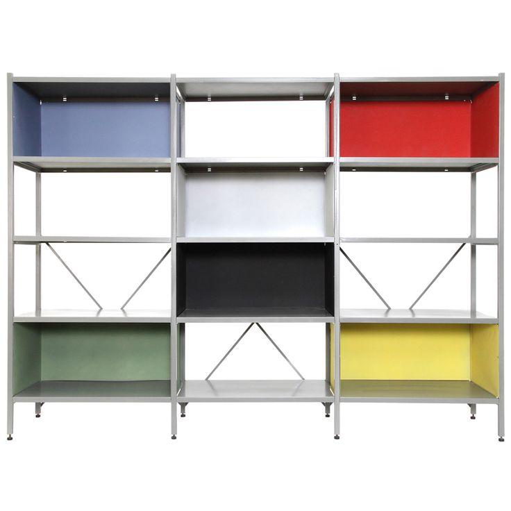 Wim Rietveld modular shelving unit 663