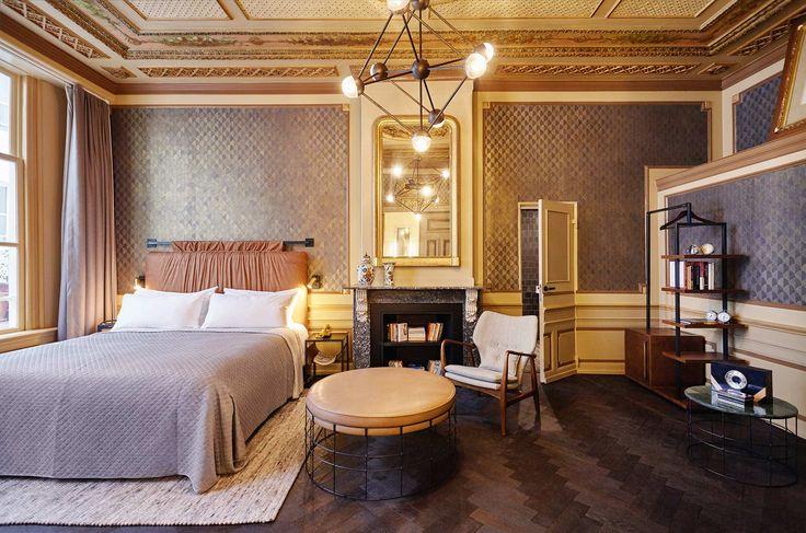 Salsa 332 in The Hoxton hotel, Amsterdam, The Netherlands #vloerkleed #carpet #rug #teppich #interieur #interior #design #wol #wool #perlettacarpets