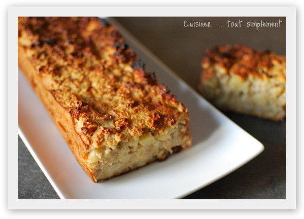 Cake Healthy Banane Flocons D Avoine
