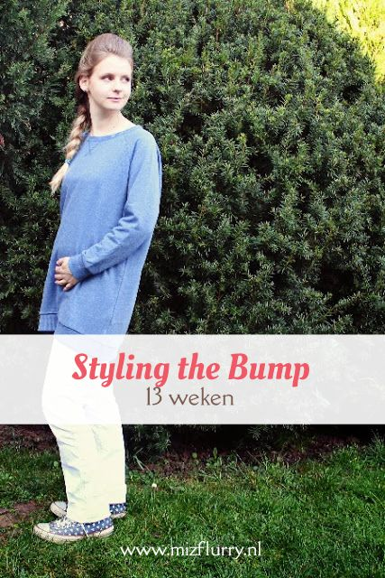 Tweede post uit de serie Styling the Bump, waarin ik mijn zwangerschapsoutfits toon van toen ik zwanger was van Kate. -13 weken zwanger.