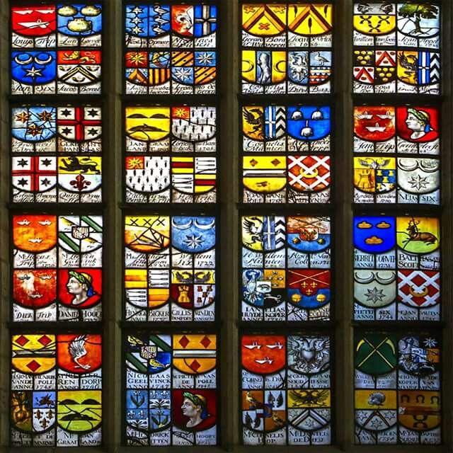 Ramen in de Oude kerk in Amsterdam.