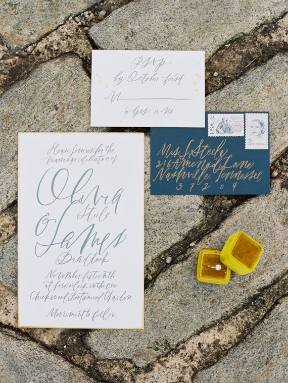Nashville botanical garden wedding inspiration | Photo by Ashley Kelemen | Read more -  http://www.100layercake.com/blog/?p=85845