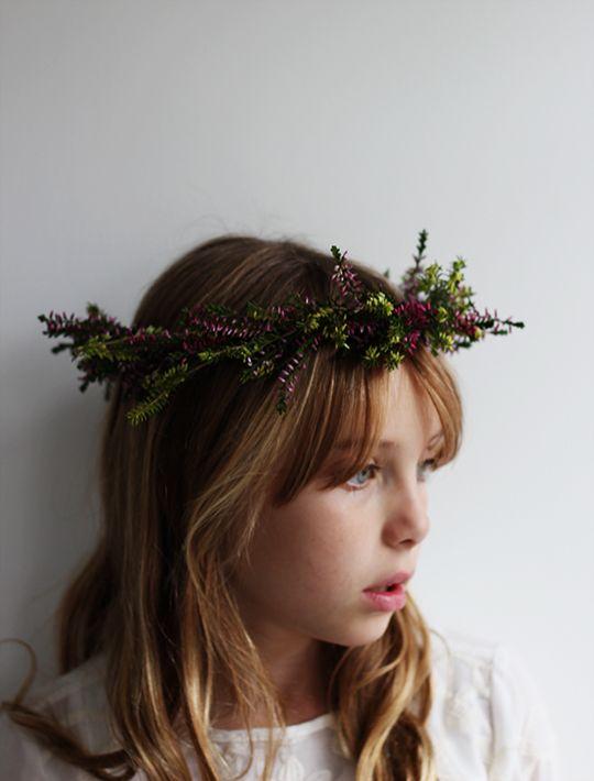 Heather Flower Crown Tutorial