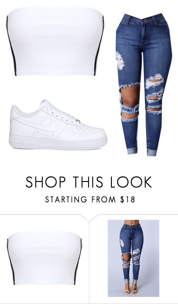 """Untitled #806"" by lakesheia ❤ liked on Polyvore featuring NIKE"
