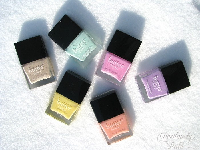Butter London Spring 2013 Sweetie Shop Collection via Perilously Pale