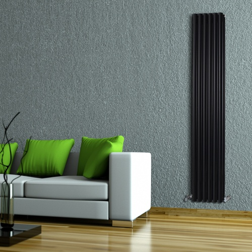 High Gloss Black Designer Radiators