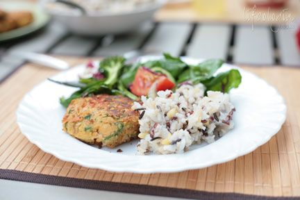 chick-pea-burgers-with-rice recipe