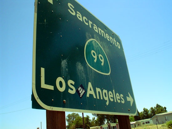 Straight to Los Angeles!