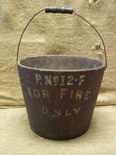 1800's fire bucket