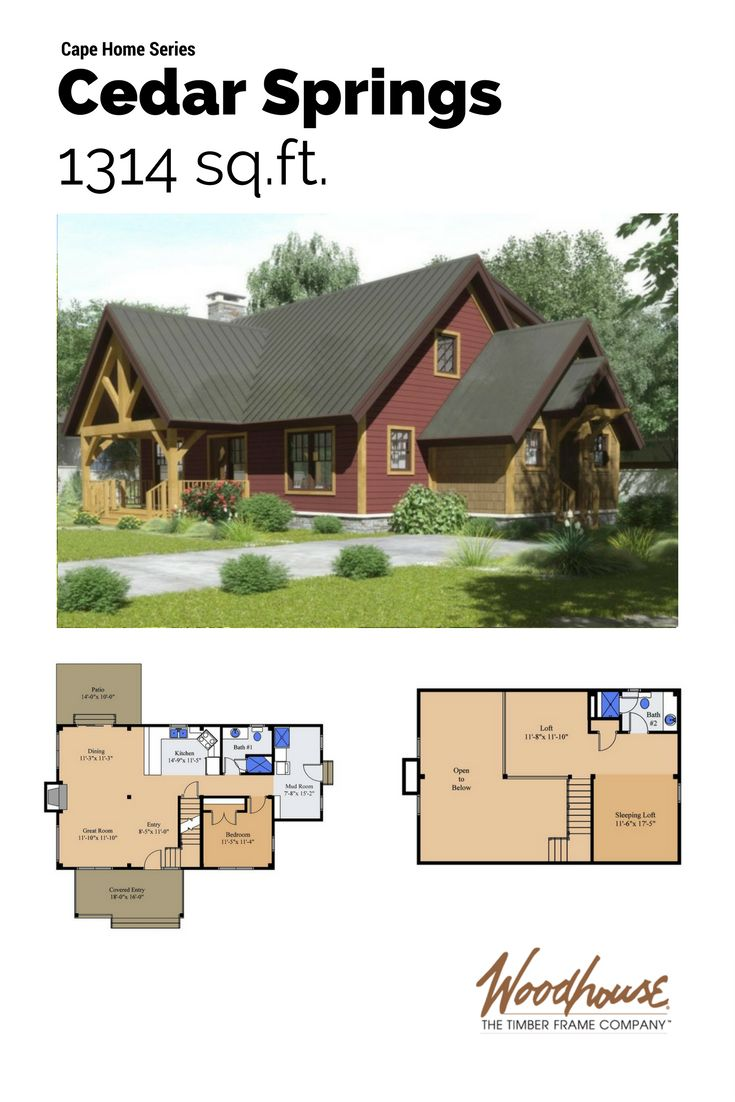 30 best floor plans images on pinterest timber frames post and cape cod style homes house plans including timber frame cape homes by woodhouse search our cape cod house plans